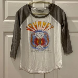 NWOT Lucky Brand 'Journey' Band Tee Size XS